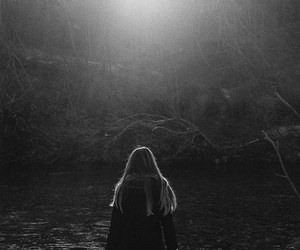 girl, indie, and nature image