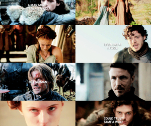 game of thrones, a song of ice and fire, and robb stark image