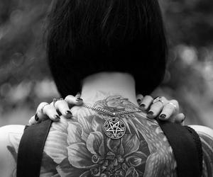 tattoo and dark image
