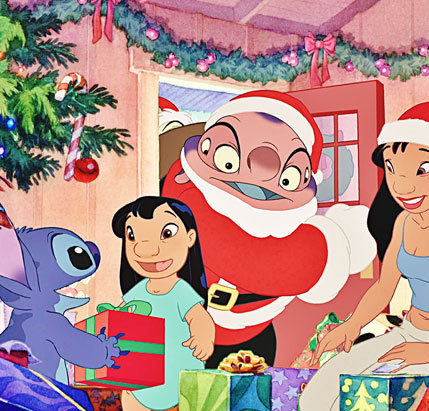 Merry Christmas From Lilo And Stitch On We Heart It