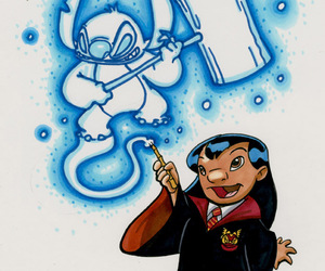 harry potter and stitch image