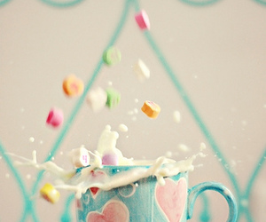 pastel, milk, and candy image