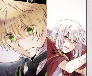 echo, pandora hearts, and oz vessalius image