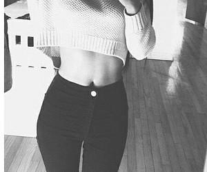 girl, skinny, and grunge image