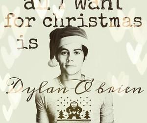 christmas, gift, and dylan image