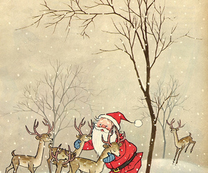 christmas, santa claus, and winter image