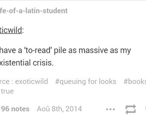 books, existential crisis, and funny image
