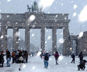 berlin and snow image