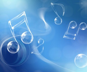 blue, music, and life image