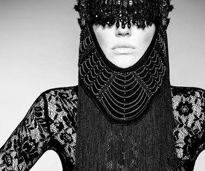 Burning Man, dark, and fashion image