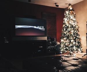 interior, light, and tree image