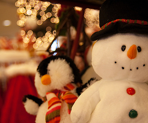 christmas, snowman, and winter image