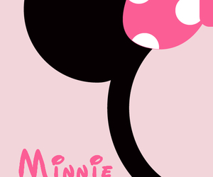 minnie and pink image