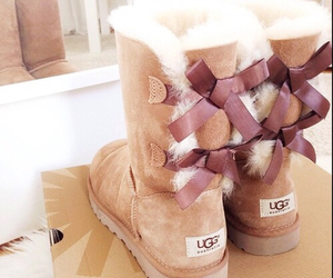 fashion, ugg, and boots image