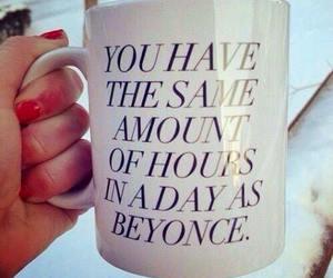 beyoncé, mug, and quotes image