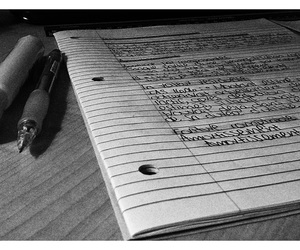 black and white, study, and accounting image