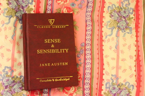 Book Jane Austen Sense And Sensibility Inspiring Picture