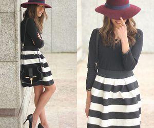 black, class, and fashion image