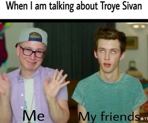 best friend, troyler, and funny image