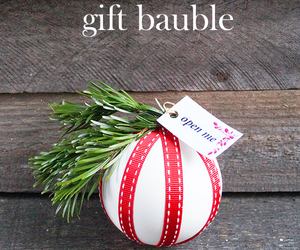 bauble, christmas, and craft image