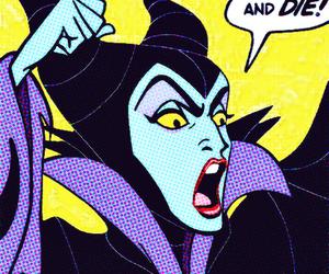 maleficent, die, and disney image