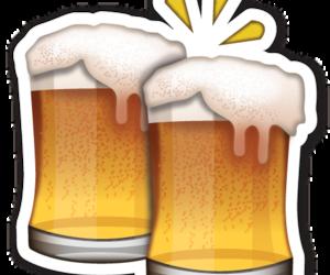 beer and emojis image