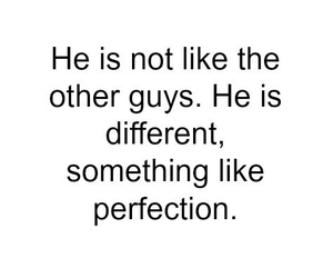 perfection, him, and quote image