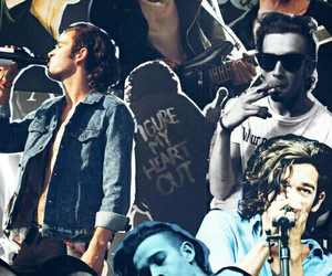 Collage, indie, and heart out image