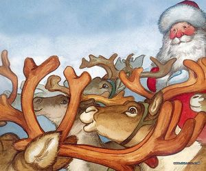 imagination, stories, and santa image