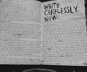 diy, Letter, and wreck this journal image