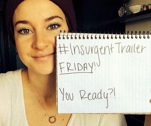 insurgent, Shailene Woodley, and divergent image