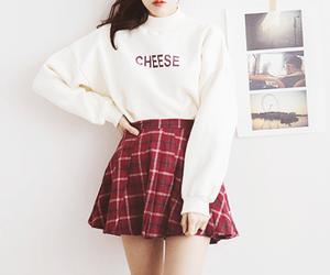 kfashion, fashion, and skirt image