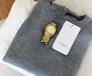 fashion, Zara, and watch image