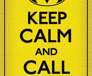 batman and keep calm image