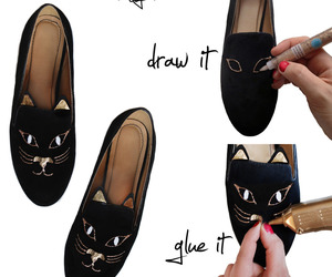 :3, cat, and shoes image
