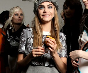 model, cara delevingne, and girl image