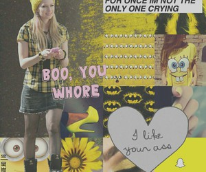 Avril Lavigne, Collage, and overlay image