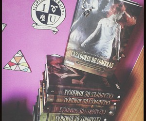 books, the mortal instruments, and fangirl image