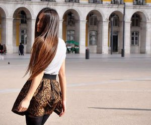hair and leopard image