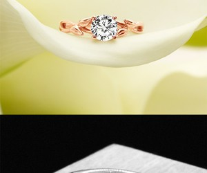 diamond, engagement, and gorgeous image