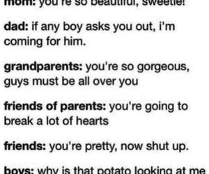 boy, funny, and potato image