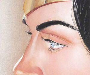 comic, wonder woman, and DC image