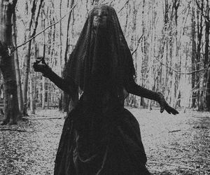 gothic, black, and dark image