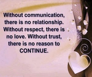 love, quote, and communication image
