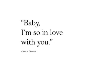 baby, forever, and you image