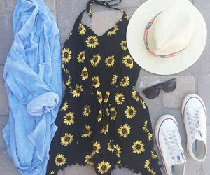 outfit, dress, and summer image