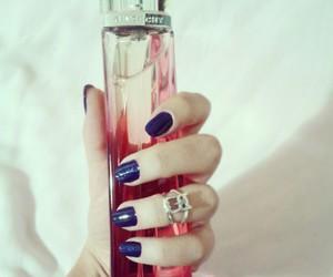 blue, nail polish, and ring image