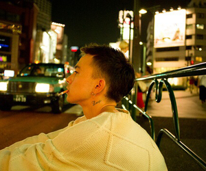 model, sen mitsuji, and japanese image