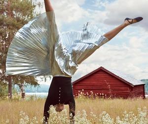 girl, Karlie Kloss, and vintage image