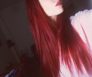 dye, dyed, and hair image